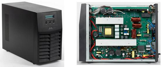 ИБП Powercom Macan MAS-3000: недорогая онлайн-модель