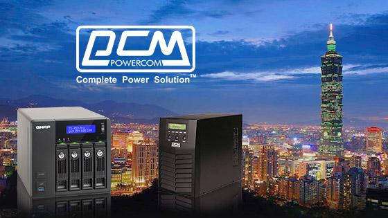 Хранилища QNAP совместимы с ИБП POWERCOM