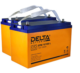 Батареи DELTA DTM 12100 L