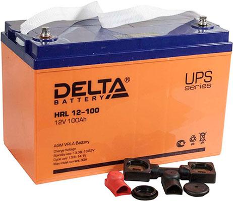 Аккумуляторная батарея Delta серии HRL 12-100