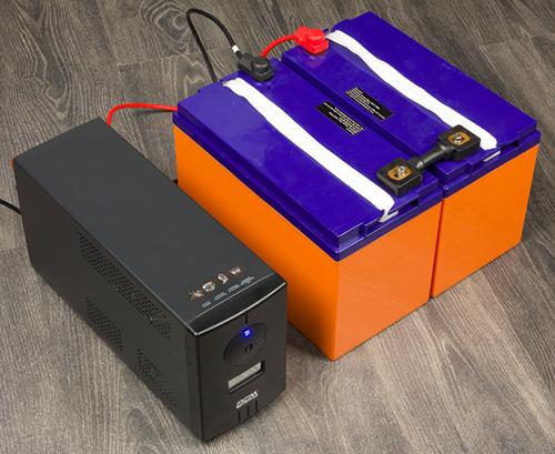 ИБП INFINITY c комплектом батарей Delta