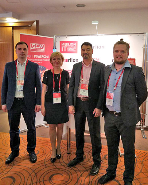 POWERCOM на IT Summit Solution