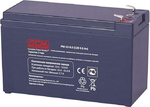 Аккумуляторные батареи Powercom для ИБП