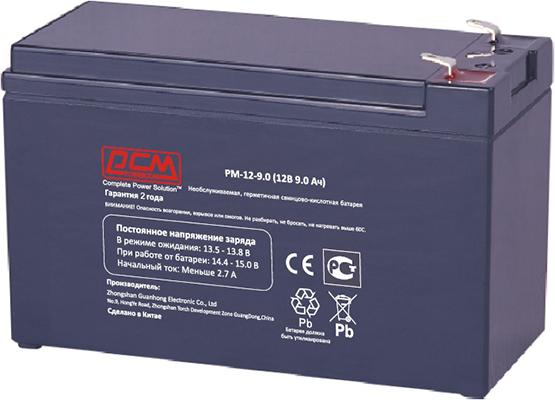 Аккумуляторные батареи POWERCOM