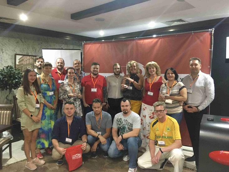 POWERCOM принял участие в партнерской конференции компании OCS в Краснодаре