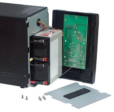 Замена батареи в ИБП PCM IMD-1200AP