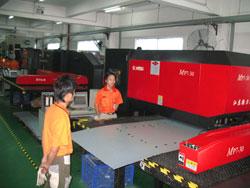 подготовка листа металла для изготовления корпусов