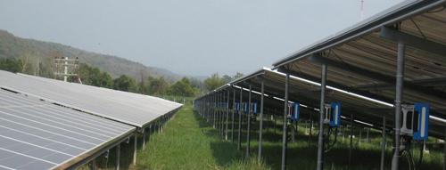 Генерирующая станция в Таиланде