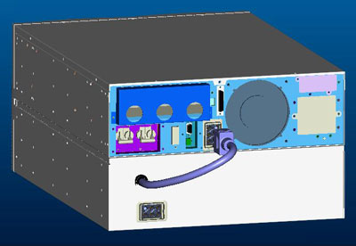 Внешний вид VGD-6K/8K/10K RM с батарейным блок
