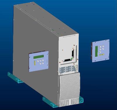 Использование в конфигурации TOWER с поворотом управляющей панели