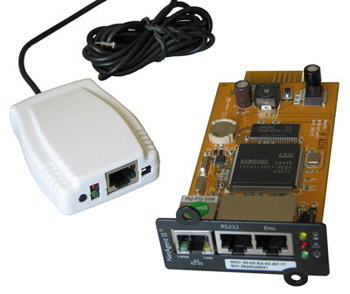 SNMP карта и датчик мониторинга окружающей среды